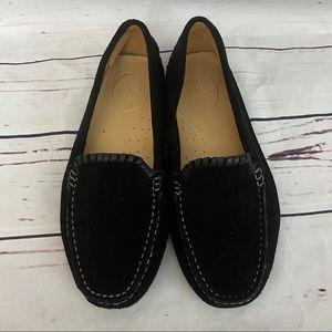 Jack Rogers Taylor Suede Loafer Black Size 8